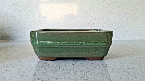 Rectangle Glazed Bonsai Pot