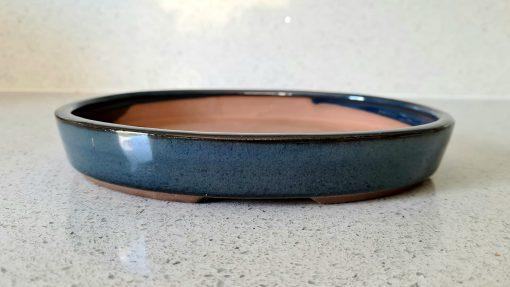 Blue Glazed Oval Pot (O-10 Small) 3 20200719 125556 scaled
