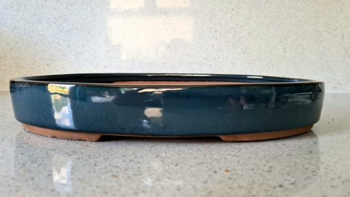Blue Glazed Oval Pot (O-10 Large) 3 20200719 125621 scaled