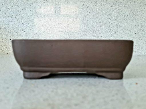 High Quality Rectangle Unglazed Bonsai Pot (ZC-11 Large)